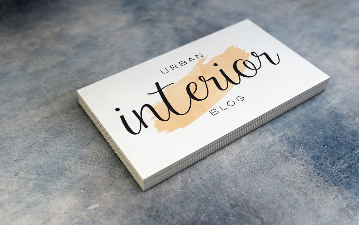 Urban Interior Blog Logo | pixeldeern